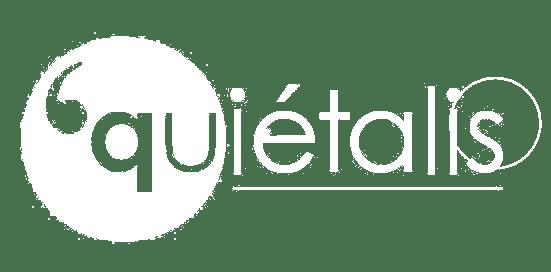 Quiétalis logo white